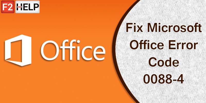 Solve The Microsoft Office Error Code 30088-4