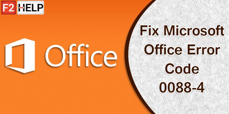 Solve The Microsoft Office Error Code 30088-4