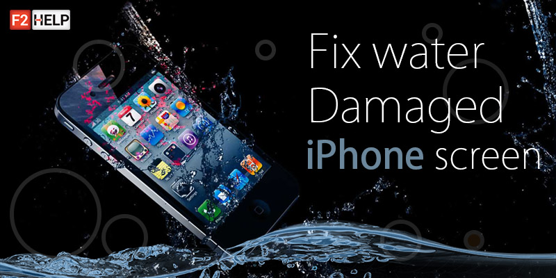 Fix water damaged iPhone screen