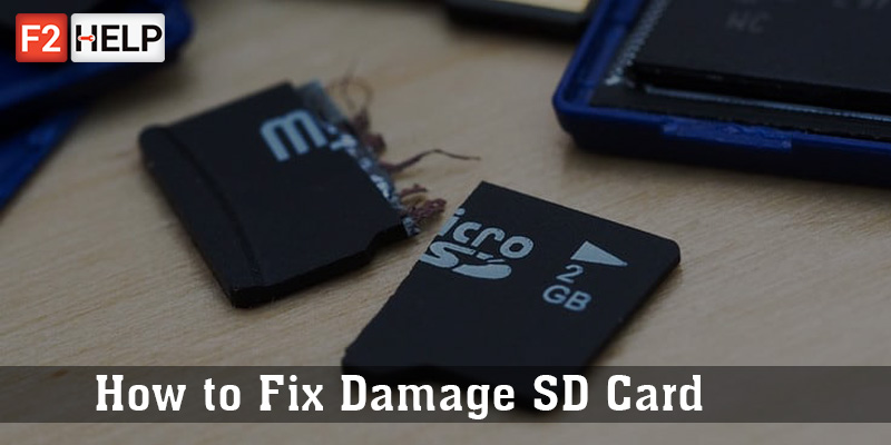 How to Fix Damage SD Card